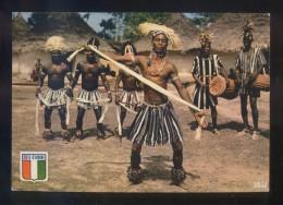 *Danseurs Du Groupe Médy* Ed. Ag. Ivoirienne Hachette Nº 5340. Escrita. - Costa De Marfil