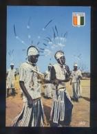 *Danseur Sénoufos* Ed. Agence Ivorienne Hachette Nº 6484. Nueva. - Costa De Marfil