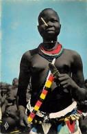 - Ref - H828 - Tchad -  Region De Fort Archambault  -  Danseuse Sara - Danseuses - Ethnologie - Carte Bon Etat - - Chad