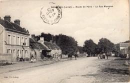 DORDIVES ROUTE DE PARIS LA RUE MANGINE DILIGENCE - Dordives