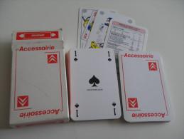 jeu de 52 cartes � jouer - CITROEN - automobiles