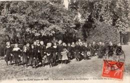 DIJON ET ENVIRONS CAISSE DES ECOLES LAIQUES DE DIJON COLONIE SCOLAIRE DE CREPEY - France