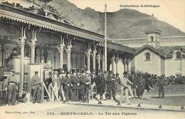 - Ref - H810 -  Monaco - Monte Carlo - Le Tir Aux Pigeons - Tirs Aux Pigeons - Sport -  Carte Bon Etat - - Monte-Carlo