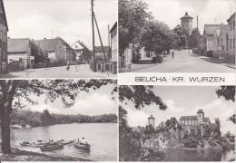 AK Beucha - Kr. Wurzen - Mehrbildkarte (17573) - Brandis