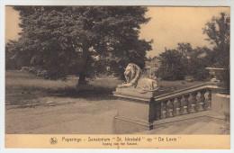 Poperinge, Poperinghe, Sanatorium St Idesbald op de Lovie,  Ingang van het kasteel (pk22505)