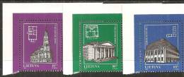 Lituania 1994/95 Nuovo** - Mi. 568/70; 593/96 - Lituania