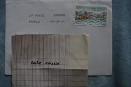 4-97 La Poste 25635A France Chine Nankin Qinhuai China 2014 - Francia