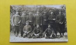95. Carte Photo Arthies Regiment D´infanterie - ARTHIES 58e Territorial / A Identifier. - Arthies