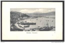 ANCONA - INIZI 900 - PANORAMA (3) NON VIAGGIATA. - Ancona