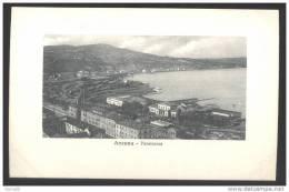 ANCONA - INIZI 900 - PANORAMA (2) NON VIAGGIATA. - Ancona