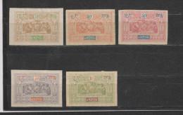 Yvert 55 - 56 - 57 - 58 - 59 * Neuf Avec Charnière - Unused Stamps