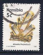 Namibia, Scott # 676 Used Mimetite, 1991 - Namibia (1990- ...)