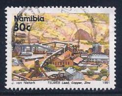 Namibia, Scott # 681 Used Tsumeb Mine, 1991 - Namibia (1990- ...)