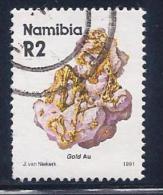 Namibia, Scott # 688 Used Gold, 1991, Blunt Perfs - Namibia (1990- ...)