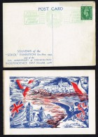 1943  Czechoslovak  Government In Exile Sokol Exhibition  Souvenir Postcard - Czechoslovakia