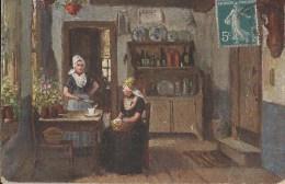 Raphael Tuck & Sons, Oilette - 9076 Dutch Cottage Homes - Tuck, Raphael