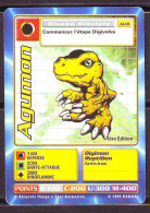 "DIGIMON  Carte "" AGUMON ""  Reptilien Antivirus 1ere Edition - Trading Cards"