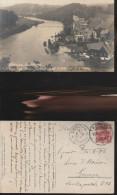 1376) GERMANY SACHSEN MITTWEIDA NEUDORFGEN HOCHWASSER 25/6/1912  VIAGGIATA ALLUVIONE RARA - Mittweida
