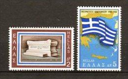 Grecia 1968. Yvert 962-63 ** MNH. - Greece