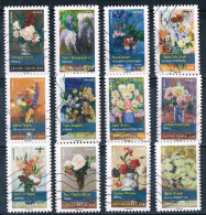 2015  Blumengemälde  (komplett) - Frankreich