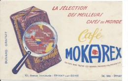 Buvard/Café/MOKAREX/Epinay Sur Seine//Seine//Vers 1950        BUV217 - Koffie En Thee