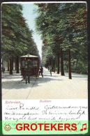 ROTTERDAM Parklaan Met Paardentram Levendig  1906 Met Proefstempel (Vellinga 212) - Rotterdam
