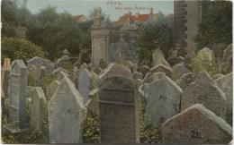 Judaica: PRAGUE Friedhof 1910 - Judaisme