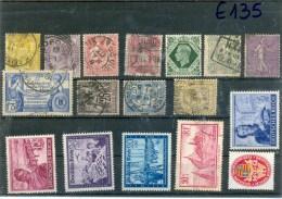 Liquidation France - Grande Bretagne - Allemagne - 17 Différents - Lots & Kiloware (mixtures) - Max. 999 Stamps