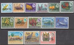 RHODESIA, 1966 INDEPENDENCE O/PRINTS 14 MLH - Rhodesia (1964-1980)
