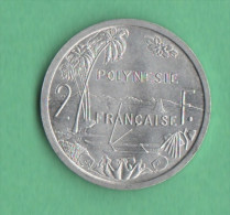 Polinesia Francese 2 Francs 1965 - Polynésie Française