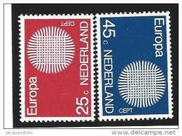 Nederland  ....  NVPH  ....    971/972      ....   **  ....  Postfris .... MNH ....  Postfrisch .... Neuf ** - Periode 1949-1980 (Juliana)