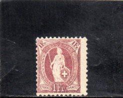 SUISSE 1882-1904 * - 1882-1906 Wappen, Stehende Helvetia & UPU