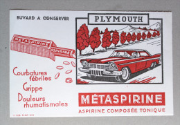 Buvard Métaspirine Aspirine Composée Tonique Plymouth Rougevoiture - Drogisterij En Apotheek