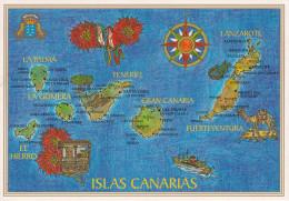 España--Tenerife--2003--Islas Canarias--Fechador--Puerto De La Cruz-a Reims,Francia - Mapas