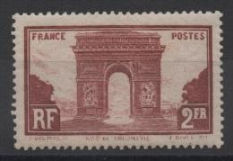 FRANCE - YT N° 258 - Neuf ** - MNH - Cote 95,00 € - Francia