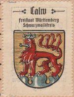 Werbemarke (Reklamemarke, Siegelmarke) Kaffee Hag : Wappen Von Calw - Cinderellas