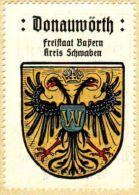 Werbemarke (Reklamemarke, Siegelmarke) Kaffee Hag : Wappen Von Donauwörth - Cinderellas