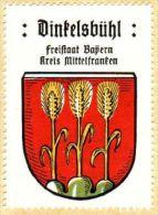Werbemarke (Reklamemarke, Siegelmarke) Kaffee Hag : Wappen Von Dinkelsbühl - Cinderellas