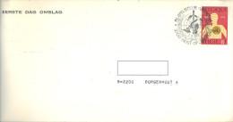 BELGIUM - 7.4.1973 -  FDC BRIEF LETTRE COVER LETTER INCLUDED CLUB INTERCOM  -  COB 1667  -  Lot 12610 - 1971-80