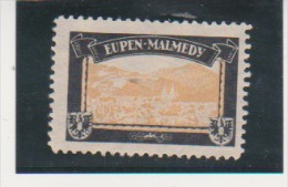 German Germany Mourning Labels Lost Colonies Territories Eupen Malmedy Issued In 1920 By Sigmund Hartig MNG - Colony: Mariana Islands