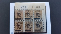Italy Trieste 1940 30c Brown Variety, Sassone 3f, No Dot After L.MNH - Trieste