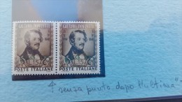 Italy Trieste 1948 Donizetti  No Dot After T, Variety - Trieste