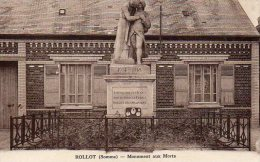 ROLLOT  Monument Aux Morts - Other Municipalities