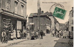 76 BLANGY-sur-BRESLE  La Grande Rue  (TOP) - Blangy-sur-Bresle