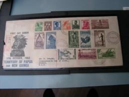 == Papua Cv, FDC 1952 - Papouasie-Nouvelle-Guinée