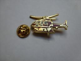 Beau Pin´s En EGF , Pompiers SP , Hélicoptére - Brandweerman