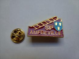 Pompiers SP D' Amfreville La Campage - Brandweerman