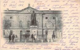 81 - Gaillac - Mairie & Statue Du Général D'Hautpoul - Gaillac