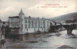 81 - Brassac - Le Château Et Le Vieux Pont - Brassac