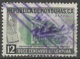 HONDURAS 1956 - Mi. 529 O, School Of The USA | Air Mail - Honduras
